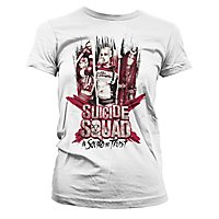 Suicide Squad - Girlie Shirt Power Girl Power