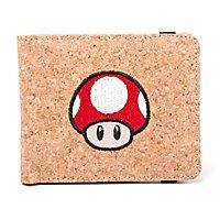 Super Mario - Geldbörse Super Mario Mushroom aus Kork