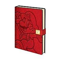 Super Mario - Premium A5 Notizbuch Mario