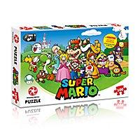 Super Mario - Puzzle Mario und Freunde mit 500 Teilen
