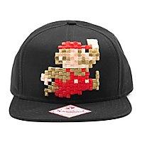 Super Mario - Snapback Cap 3D Pixel Jumping Mario