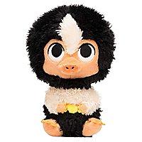 Phantastische Tierwesen - Plüschfigur Baby Niffler schwarz/weiß SuperCute