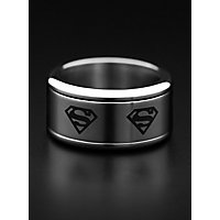 Superman - Logo Ring rotierend silber