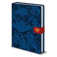 Superman - Premium Notizbuch Montage