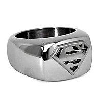 Superman - Siegelring silber