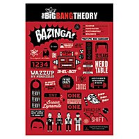 The Big Bang Theory - Poster Infographic