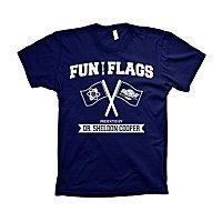 The Big Bang Theory - T-Shirt Fun With Flags