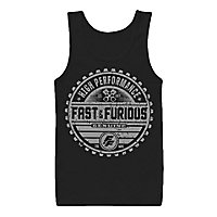 The Fast and the Furious -Tank Top Genuine Brand