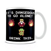 The Legend Of Zelda - Tasse Drink This