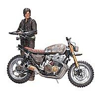 The Walking Dead - Actionfigur Daryl Dixon mit Chopper Deluxe
