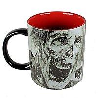 The Walking Dead - XL Keramiktasse mit 3D-Zombie