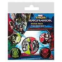 "Thor Ragnarok - Ansteck-Buttons ""Ragnarok"""