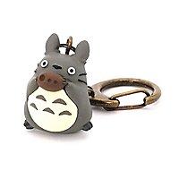 Totoro - Schlüsselanhänger Totoro mit Okarina