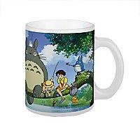 Totoro - Tasse beim Fischen