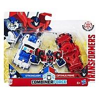 Transformers - Combiner Force Actionfiguren Strongarm & Optimus Prime