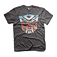 Transformers - T-Shirt Distressed Autobot Schild
