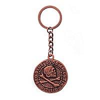 Uncharted 4 - Schlüsselanhänger Piraten Münze