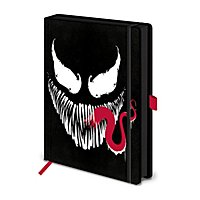 Venom - Premium A5 Notizbuch Fratze