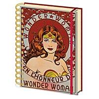 Wonder Woman - A5 Notizbuch En L'Honneur De Wonder Woman