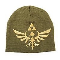 Zelda - Beanie Mütze Hyrule Wappen Gold