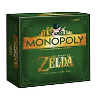 The Legend of Zelda - Monopoly Zelda Brettspiel