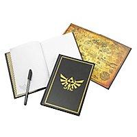 Zelda - Notizbuch Hyrule Wappen