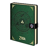 Zelda - Premium Notizbuch The Legend Of Zelda