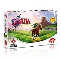 Zelda - Puzzle Ocarina of Time mit 1000 Teilen