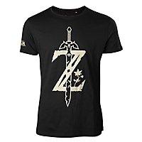 Zelda - T-Shirt Schwert aus Legend of Zelda: Breath of the Wild