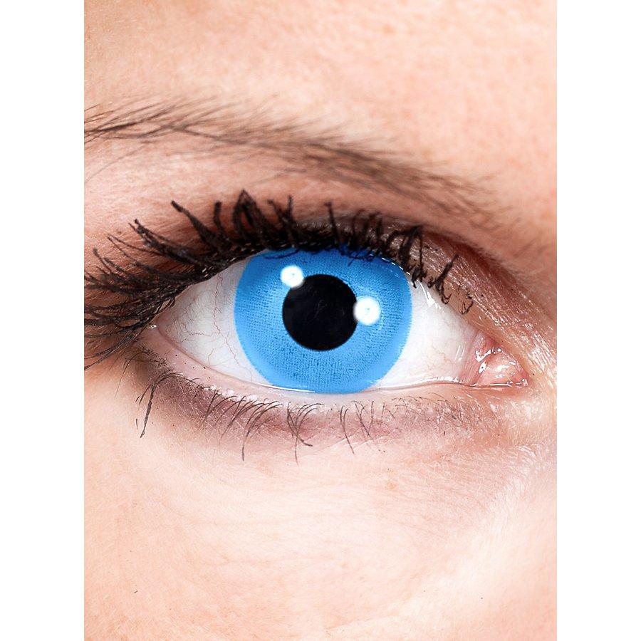Meerjungfrau Blau Kontaktlinsen