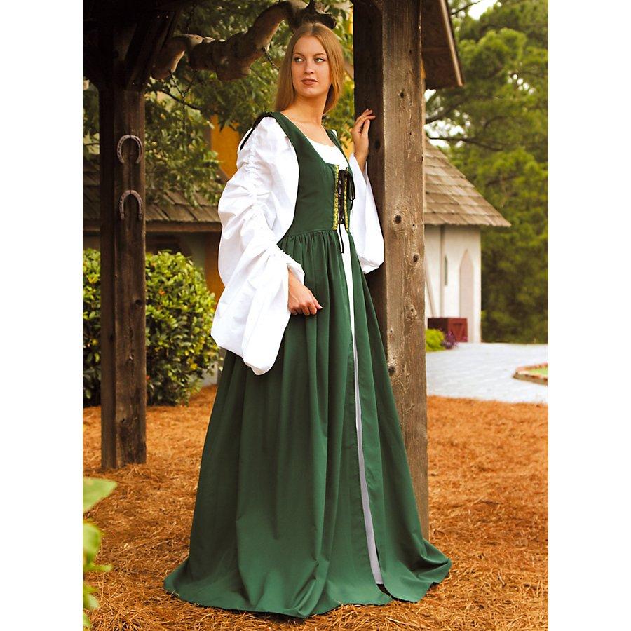 Magd grün Kostüm