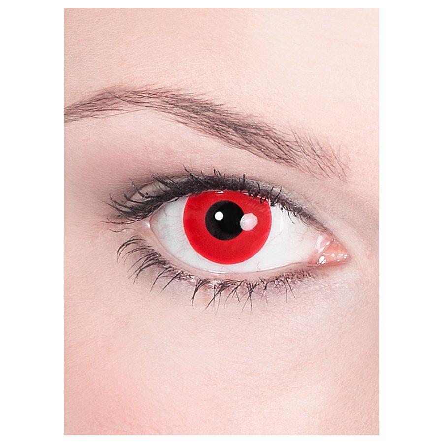 Halloween Kontaktlinsen Teufel