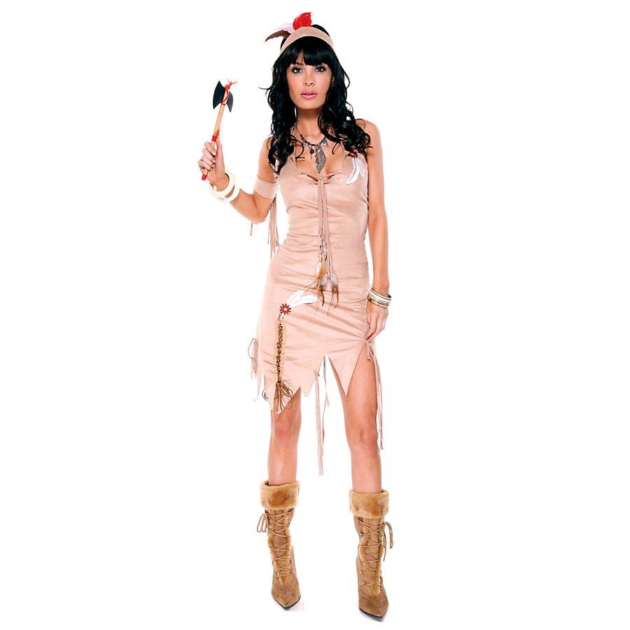 Sexy Indianerfrau Kostüm