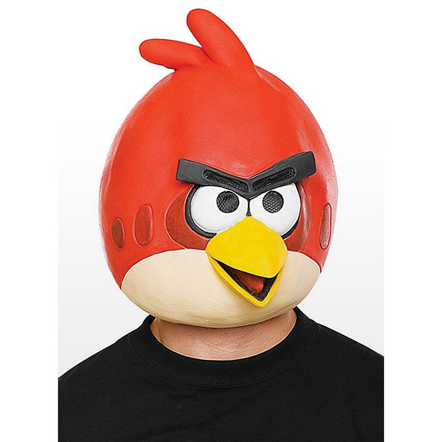 Angry Birds Maske rot