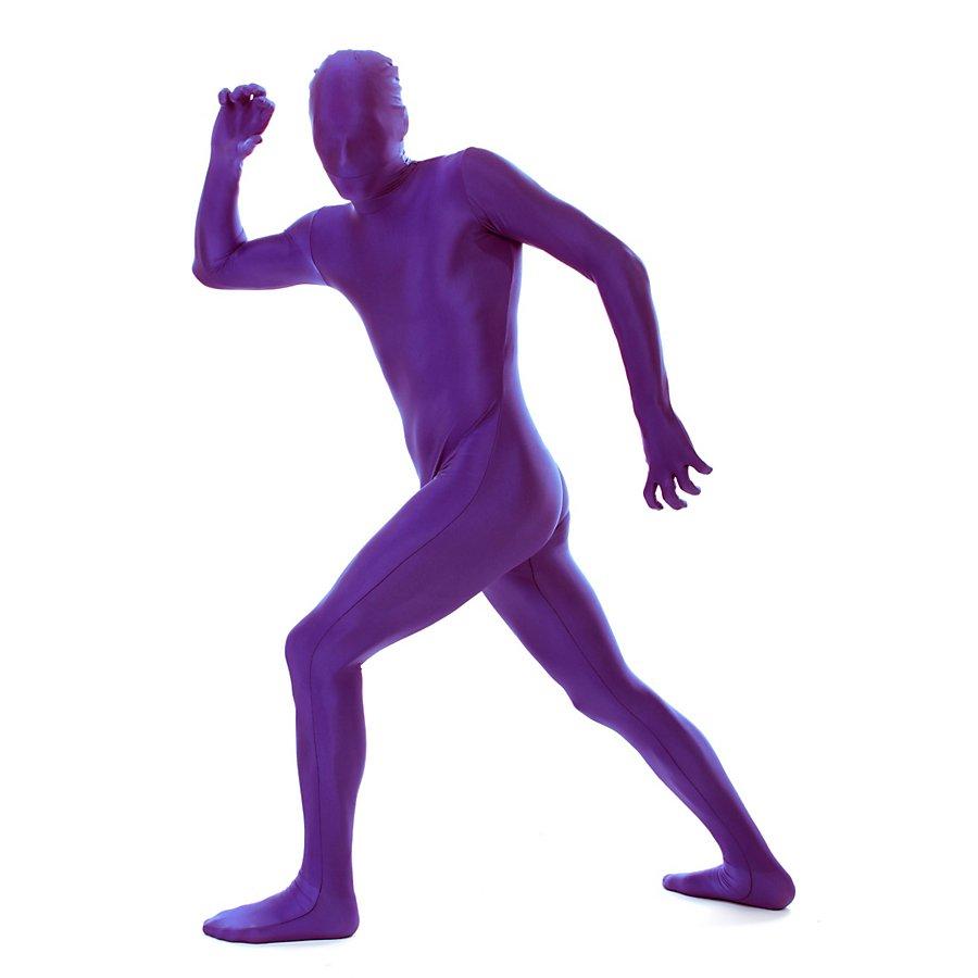 Morphsuit violett Ganzkörperkostüm