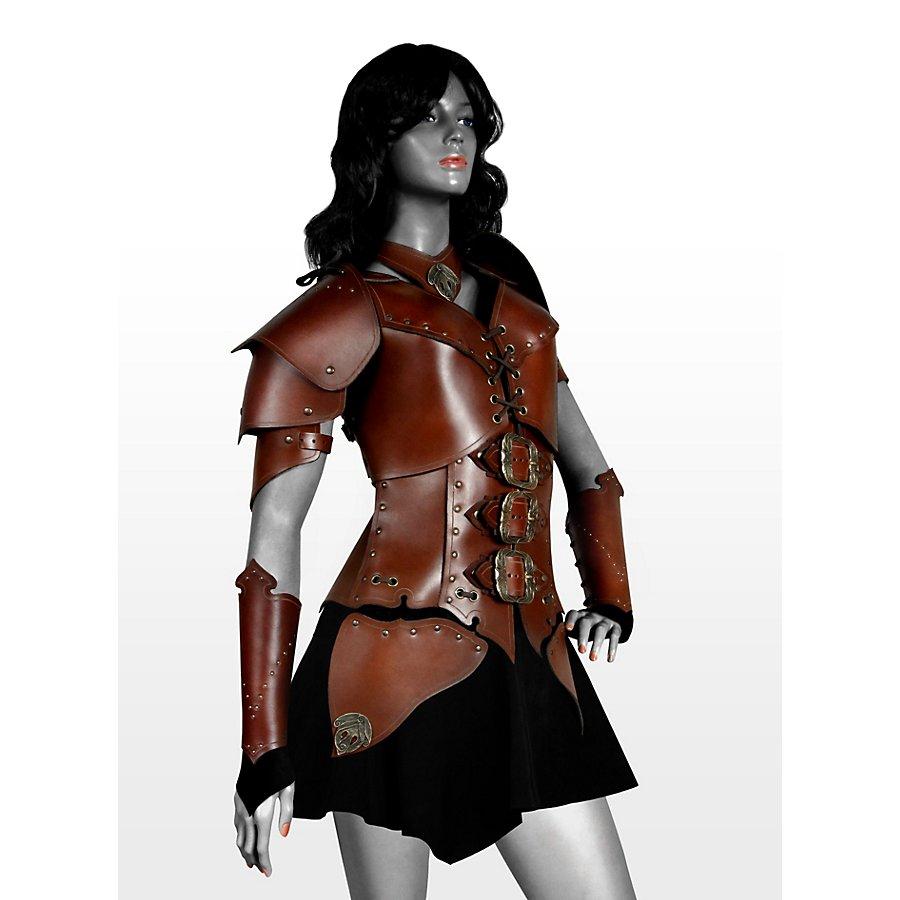Lederrüstungsset - Kriegerin