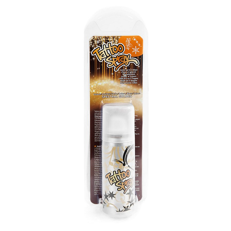 Tattoo Spray Gold