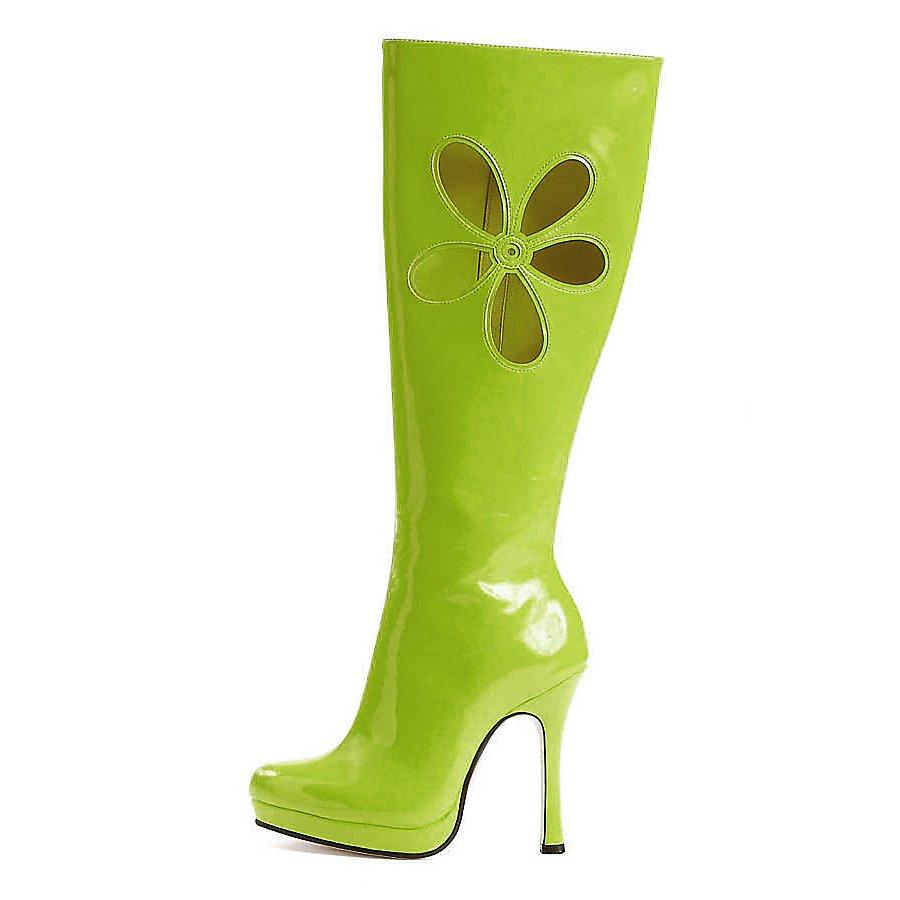 Hippie Stiefel grün