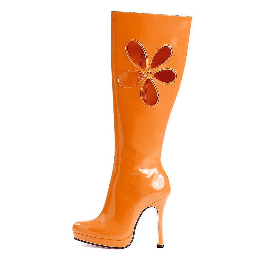 Hippie Stiefel orange