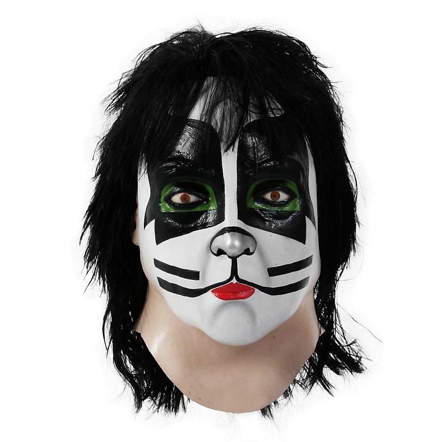 Original Kiss Catman Maske aus Latex