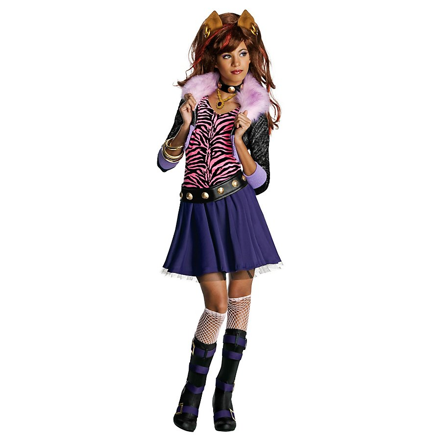 Monster High Clawdeen Wolf Kinderkostüm