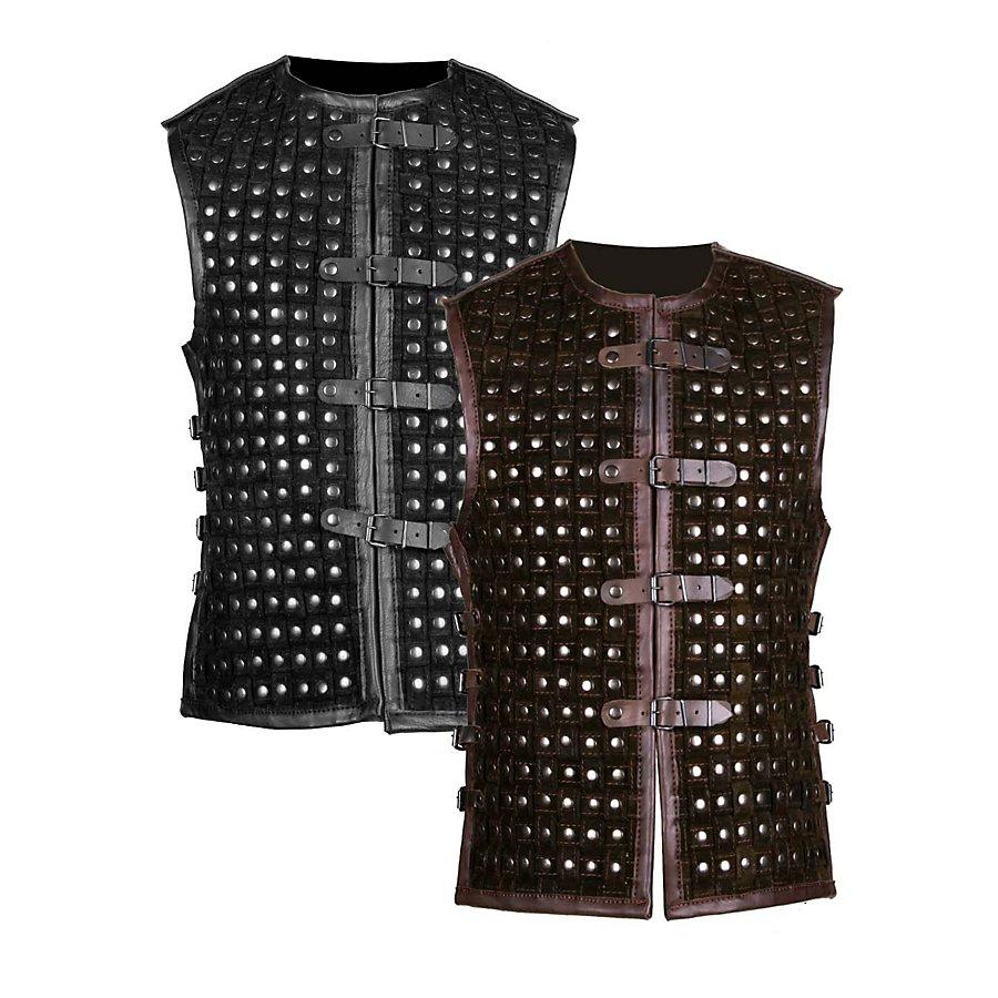 Lederrüstung - Schurke schwarz