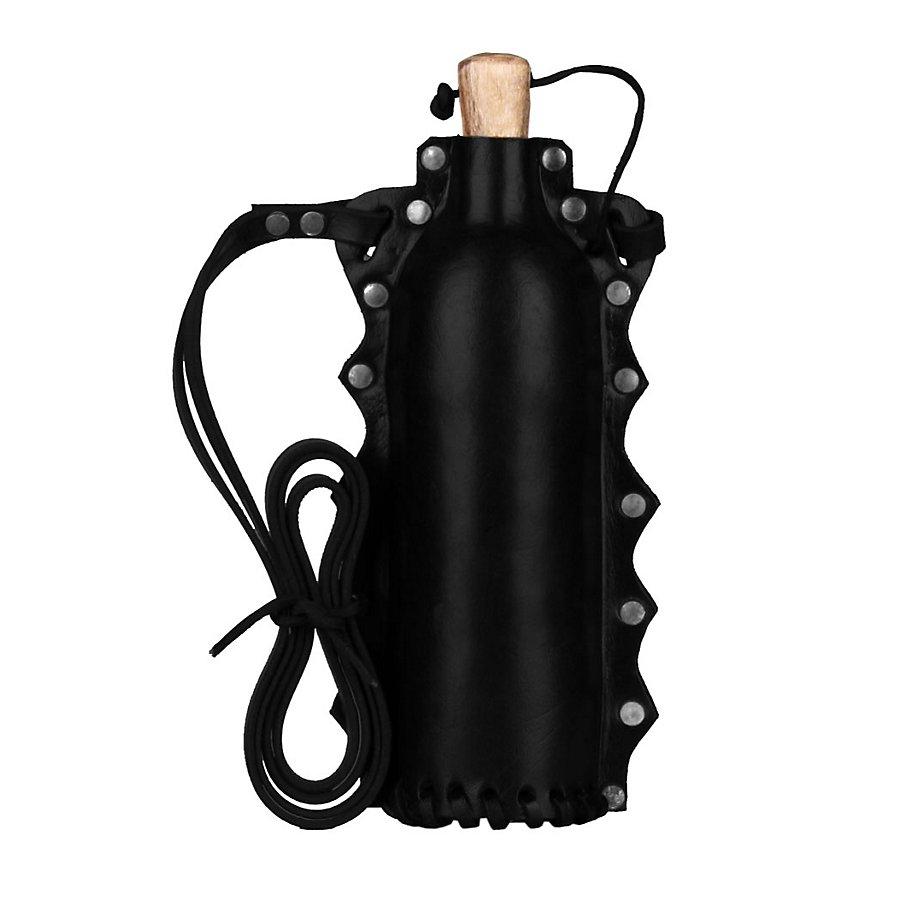 LARP Trinkflasche schwarz