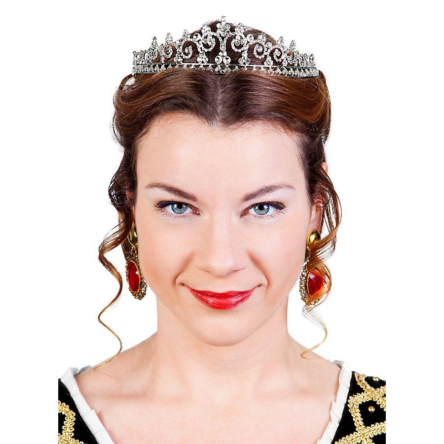 Schönheitskönigin Tiara silber