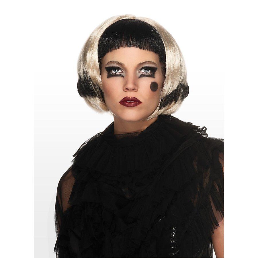 Lady Gaga Perücke schwarz-blond