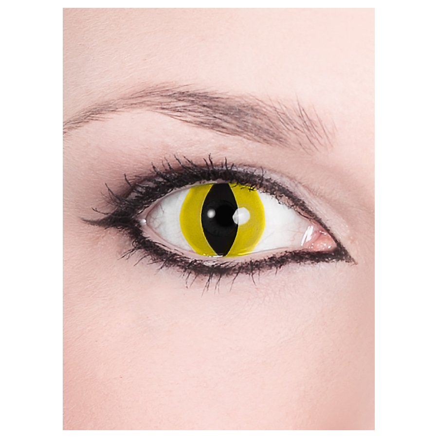 Raubtier gelb Kontaktlinsen
