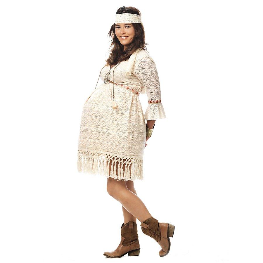 Mama Hippie Kostüm für Schwangere