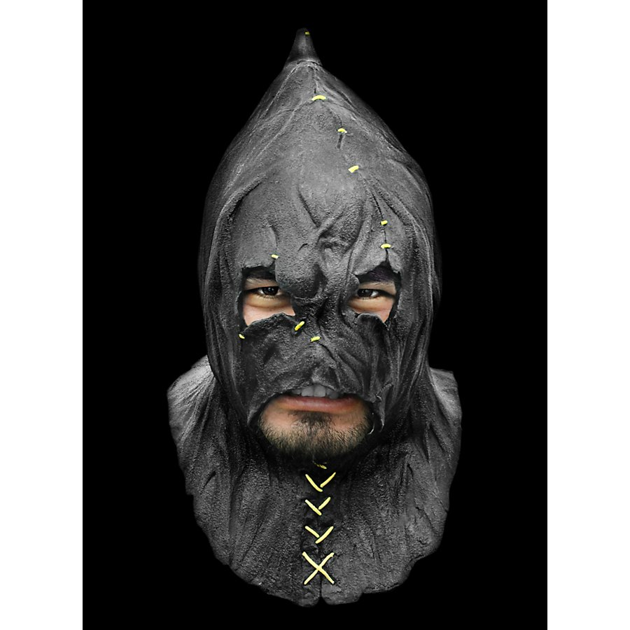 Folterknecht Deluxe Maske aus Latex