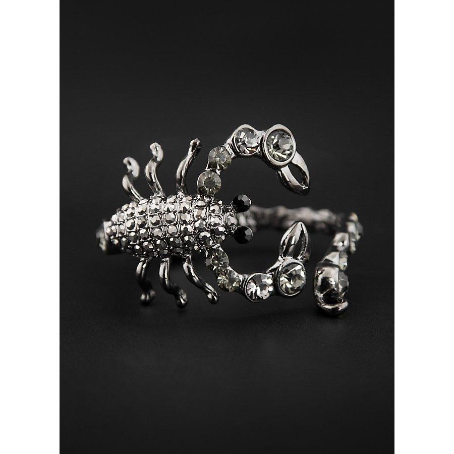 Skorpion Armband mit Strass