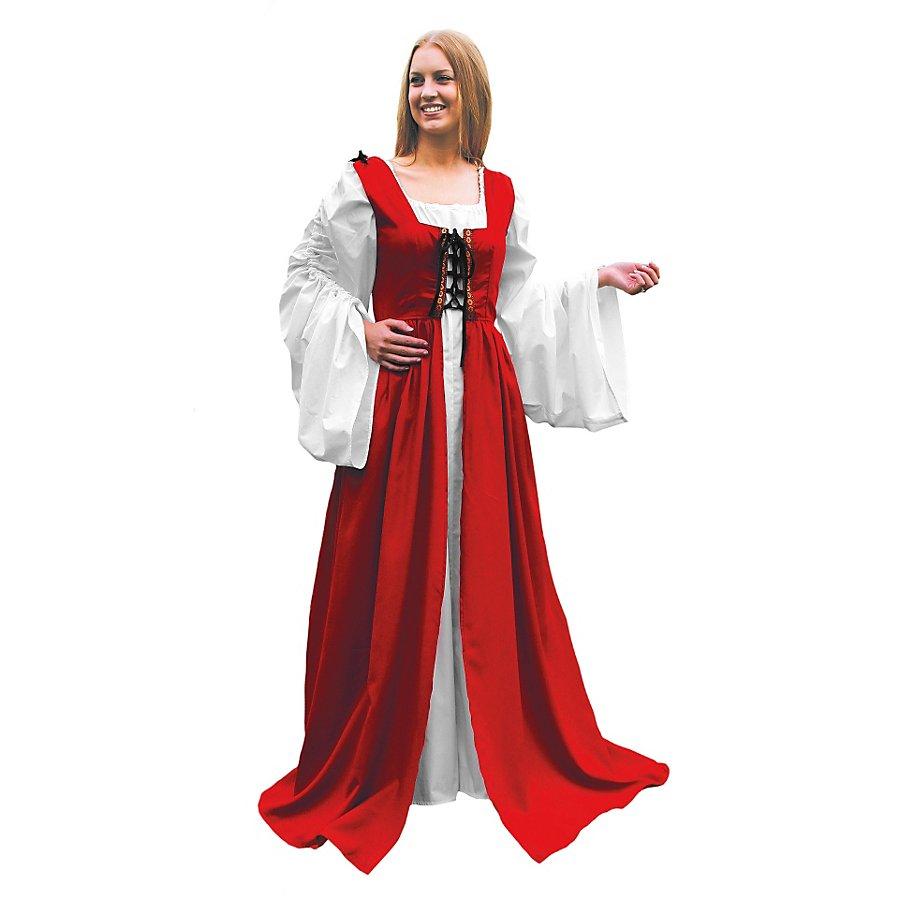 Magd rot Kostüm